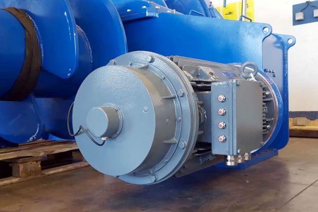 Морской электродвигатель Koncar